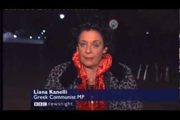 Η Λιάνα Κανέλλη στο τηλεοπτικό δίκτυο BBC